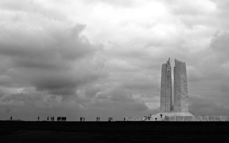 Not the Somme but Vimy Ridge north of Arras